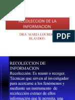 Tecnica e Instrumentos de recolecion de informacionl