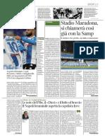Corriere del Mezzogiorno Campania 1 Dicembre 2020