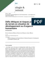 Défis éthiques et risques pratiques du terrain en situation de développement ou d'urgence humanitaire_1607839593233.pdf