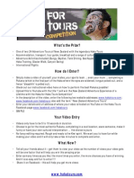 Haka for Haka Tours Competition Rules