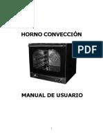 MANUAL HORNO CONVECCIÓN (2)