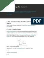 2D Triangular Elementsarticle