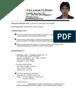 GEODETIC ENGINEER - MR. FREDERICK V. ULPINDO