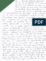 Carta Ana María de La Rosa