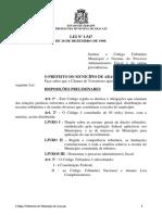 CTA-Cod Trib Aju Lei nº 1547 de 1989