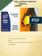 Legislação Laboral - Segurança, Higiene e Saúde no trabalho