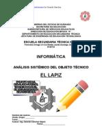 Análisis Sistémico de Objeto Técnico