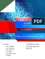 MR 27 November 2020