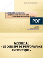 Module 4. L'HOMME ENERGIE ET LE GESTIONNAIRE DES BATIMENTS