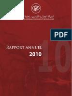 Rapport Annuel CAAR 2010