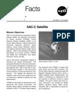 NASA Facts SAC-C Satellite