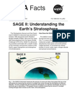 NASA Facts SAGE II Understanding the Earth's Stratosphere