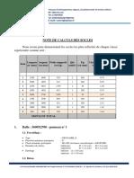Note de Calcul Et Plans Des Socles Pour Omnuim Service