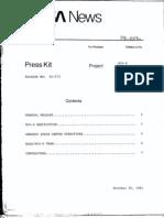 RCA-D Satcom III-R Press Kit