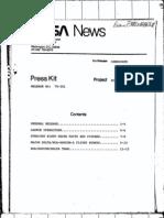 RCA Satcom a Press Kit