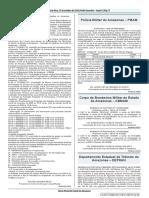 Diário Oficial - Matricula CFO
