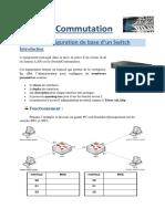 Configuration de base d'un Switch