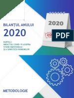 IRES_BILANTUL ANULUI 2020_PARTEA I_SONDAJ DE OPINIE