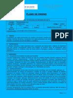 PLANO DE ENSINO - HIDRÁULICA