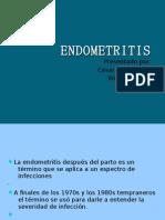 ENDOMETRITIS  presentacion