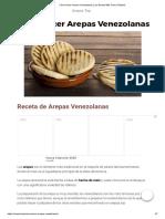 Cómo Hacer Arepas Venezolanas _ ¡La Receta Más Fácil y Rápida!