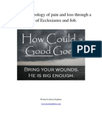 """How could a good God..."" Understanding Pain and Loss through a study of Ecclesiastes and Job"