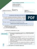 VIII Guía de Trabajo Autónomo, XI Año, Educación Cívica.