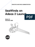 SeaWinds on Adeos 2 Launch Press Kit