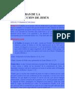 LAS PRUEBAS DE LA RESURRECCIÓN DE.docx