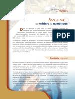 Focus Metiers Numerique PDF