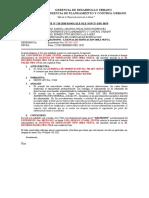 INFORME Nº 120- EXP EN ABANDONO - LUIS ADOLFO CCAMA TICONA - JR RICARDO PALAM NRO 238