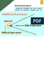 CONSTRUCCION DE ANGULOS