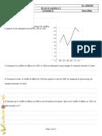 Devoir de Contrôle N°1 - Math - 2ème Economie  Gestion (2010-2011) Mr Tlich Ahmed