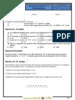 Devoir de Contrôle N°1 - Math - 2ème Economie & Services (2012-2013)  Mme GUESMIA AZIZA