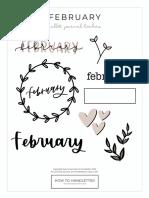 Bullet+Journal+FEBRUARY