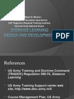 Distance Learning Development