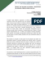 FLORES, Fidel. Enfrentar assimetrias em relações bilaterais - Brasil e México frente aos EUA