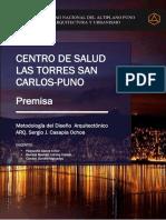 Premisa Grupo 2 CENTRO de SALUD PDF
