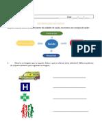 Ficha trabalho - serviços saúde