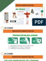 EQUIPOS DE LEVANTE (TECLES)