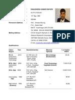 Dr Shailendra Dwivedi 15022011