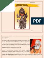 Kalabhairavasthakam With English Translation