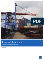 DNV Low Sulfur Recommendations