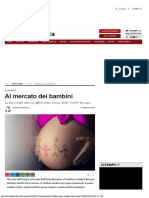 Veneziani Marcello - Al mercato dei bambini. La fiera degli uteri in affitto (Il Tempo, 2018)