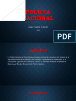 POLICIA NACIONAL ORIENTACION MILITAR