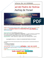 La Voluntad Del Padre de Yeshúa - El Mashíaj de Yisrael