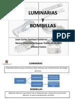 LUMINARIAS Y BOMBILLAS