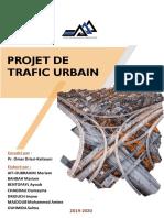 mini projet trafic urbain groupe 1