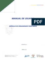 Manual - Registro de Organismos Paritarios