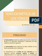 TOXICOCINÉTICA DE LOS TÓXICOS